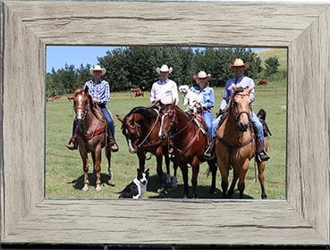Rudd Family On Their Ranch