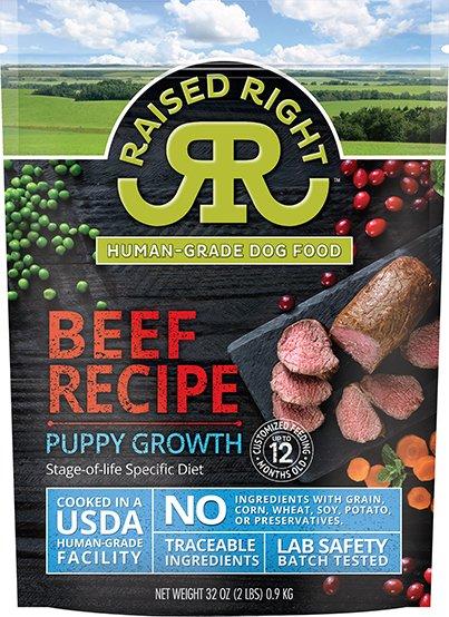 Beef Puppy Growth Recipe
