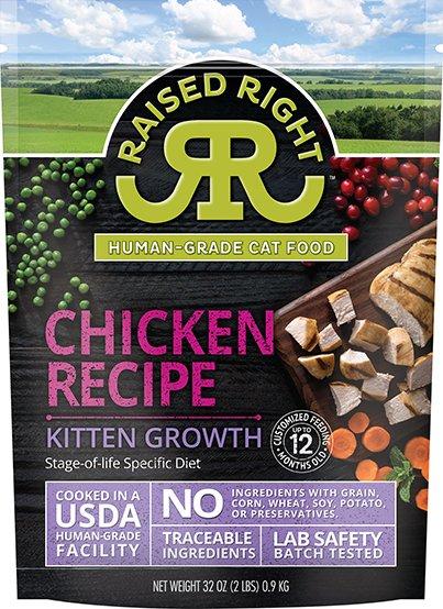 Chicken Kitten Growth Recipe