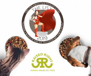 TRUTH ABOUT PET FOOD 2019 LIST RAISED RIGHT HUMAN GRADE PET FOOD